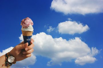 Mocha Bianca Ice Cream