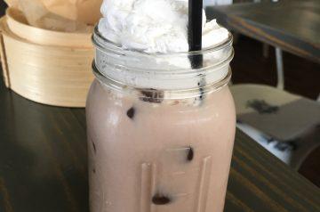 Mocha-Cream Iced Soda