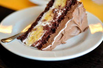 Monkeyboy Banana Chocolate Cake
