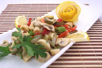 Cheesy Mushroom Appetizers