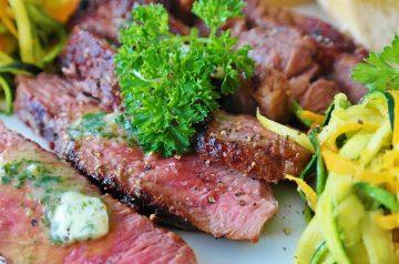 Mustard Marinated Steak