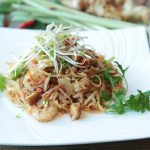 No Meat, Lotsa Heat Pad Thai