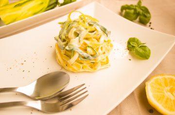 Pasta With Zucchini Ricotta Sauce