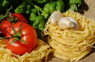 Tagliatelle With Garlic
