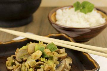 Onion-Mushroom Rice