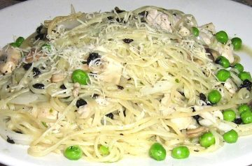 Velvety Pasta With Chicken and Mushrooms