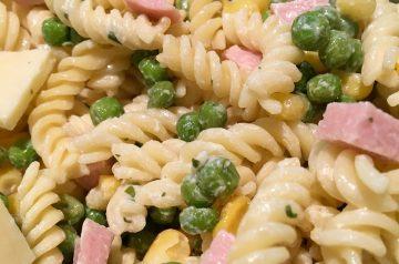 Peas N Cheese Pasta Salad