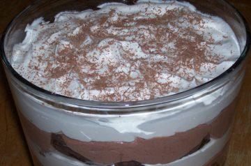 Paula's Pumpkin Gingerbread Trifle