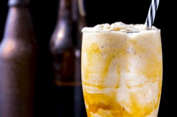 Peaches and Cream Milkshake