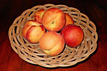 Peaches in Sauternes