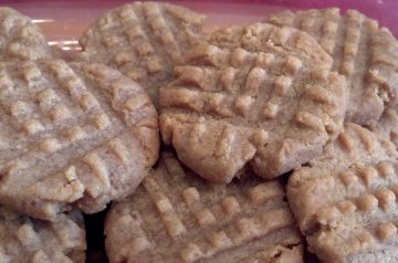 Fudge-Filled Peanut Butter Cookies