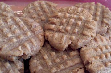 Yummy Vegan Peanut Butter Cookies