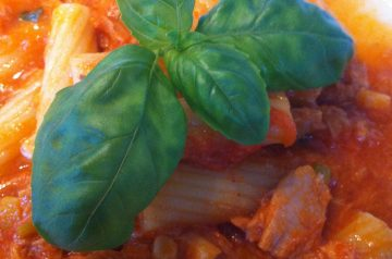 Penne With Creamy Vodka Sauce