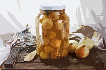 Cebollas Curtidas (Mexican Pickled Onions)