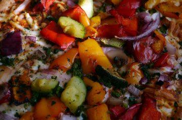 Jerk-Seasoned Chicken and Pepper Saute