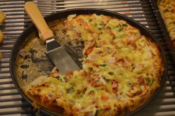 Low Carb Deep Dish Pizza