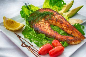 Salmon With Citrus-Balsamic Vinaigrette