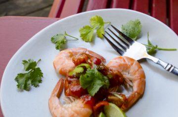 Chile-Lime Shrimp on Skewers