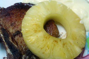 Pork Chop and Sauerkraut Supper