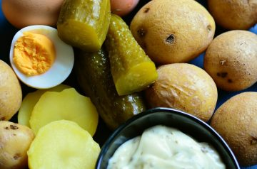 Turkey Mini-Burgers With Warm Potato Salad