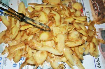 Roasted Potato Peels