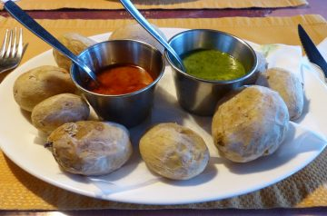 Spanish Potatoes Bravos