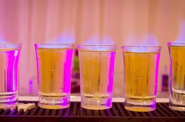 Pudding Shots - Alcoholic