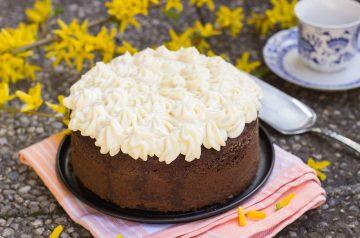 Pumpkin and Spice Sour Cream Coffee Cake