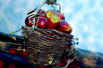 Reduced-Carb Apple Crisp