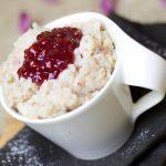 Maple Rice Pudding