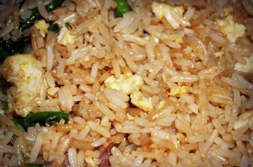 Rice with Lemongrass and Green Onion