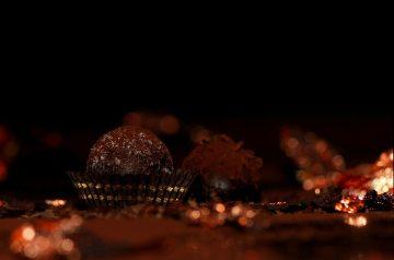 Rich Chocolate Pumpkin Truffles