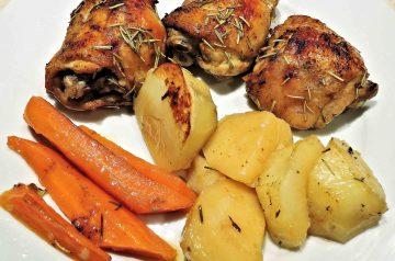 Rosemary and Garlic Chicken and Potatoes