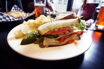 Roasted Turkey and Cranberry Chutney Sandwich