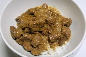 Russian Stroganoff with Bacon