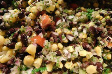 Healthy Yummy Black Bean Salsa