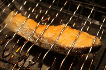 Grilled Salmon With Rosemary( Sbd)