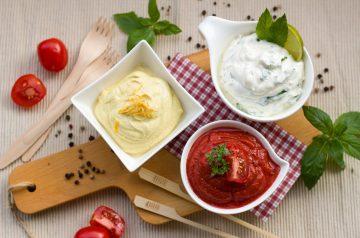 Yogurt Cilantro Sauce for Fish