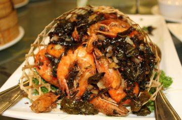 Shrimp and Sugar Snap Pea Saute