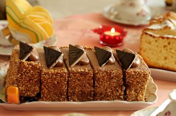 Simple Chocolate Sour Cream Cake