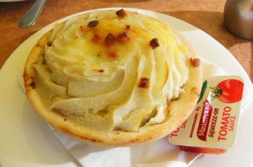 Skillet Potato Pie