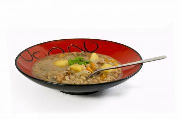 Quick Provencal Mushroom and White Bean Stew