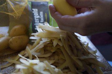 """""""soup"""" Er No Peel Potatoes"""
