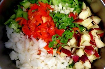 Southwest Chopped Salad (Healthy!)