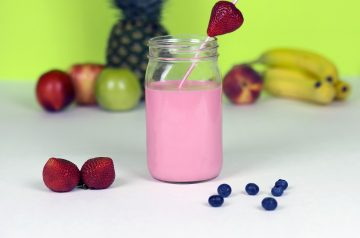 Soy Delicious Strawberry Banana Shake or Smoothie