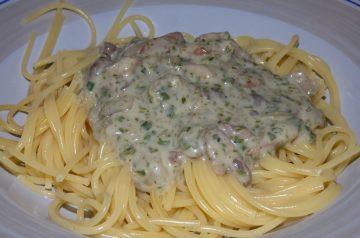 Olive Garden Spaghetti Carbonara