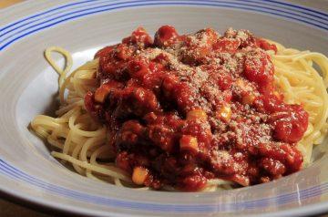 Red Wine Spaghetti Bolognese
