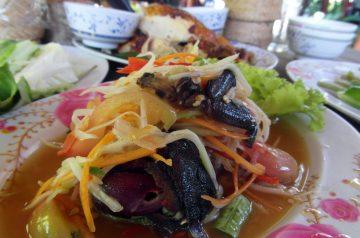 Asian Glazed Salmon With Oriental Salad