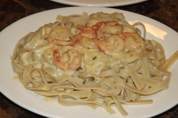 Spicy Shrimp and Pasta