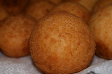 Spinach Arancini (rice Balls)